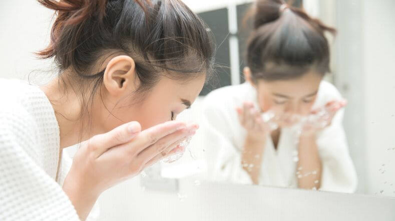 お米のとぎ汁で美肌~洗顔ケア~